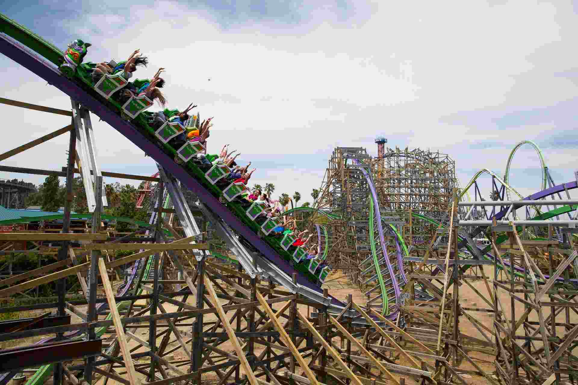 Six Flags Discovery Kingdom General Admision Image